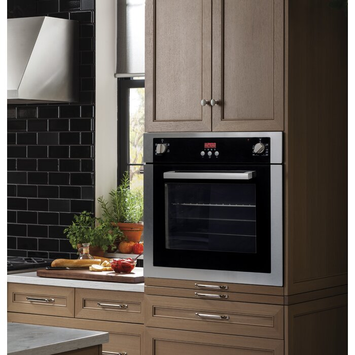 Cosmo 24 Convection Electric Single Wall Oven