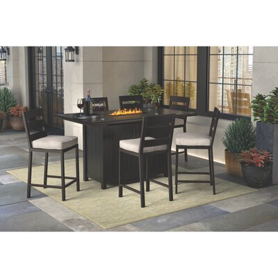 Jasso 4-Piece Bar Set by Darby Home Co 2020 Sale