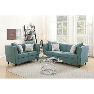 Moorehead 2 Piece Living Room Set by House of Hampton