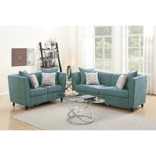 Find for Moorehead 2 Piece Living Room Set by House of Hampton Reviews (2019) & Buyer's Guide
