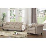 Audwin 2 Piece Living Room Set by House of Hampton®