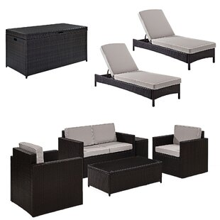 Mercury Row Belton Lounge Seating Group with Cushions