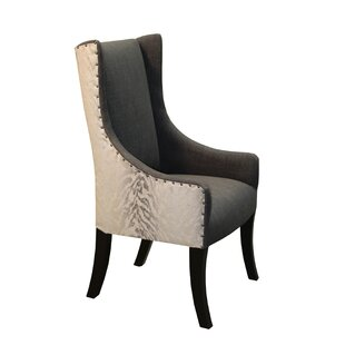 Lago Upholstered Dining Chair Bloomsbury Market