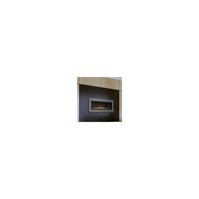 Direct Recessed Wall Mounted Natural Gas Fireplace