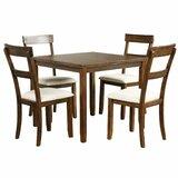Hademar 5 - Piece Solid Wood Dining Set by Red Barrel Studio®