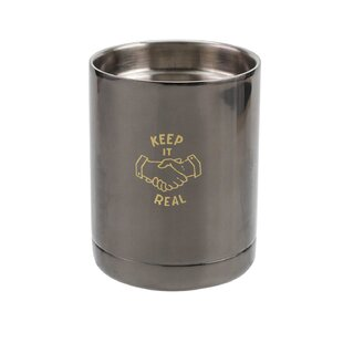 Mccarter Keep It Real Double Wall 12 oz. Stainless Steel Travel Tumblers