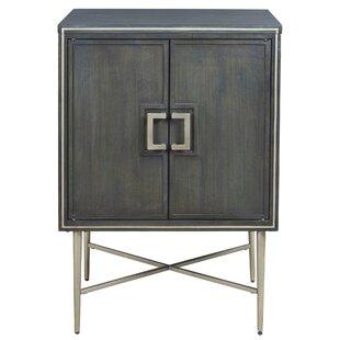 Natanael 2 Door Accent Cabinet by Wrought Studio