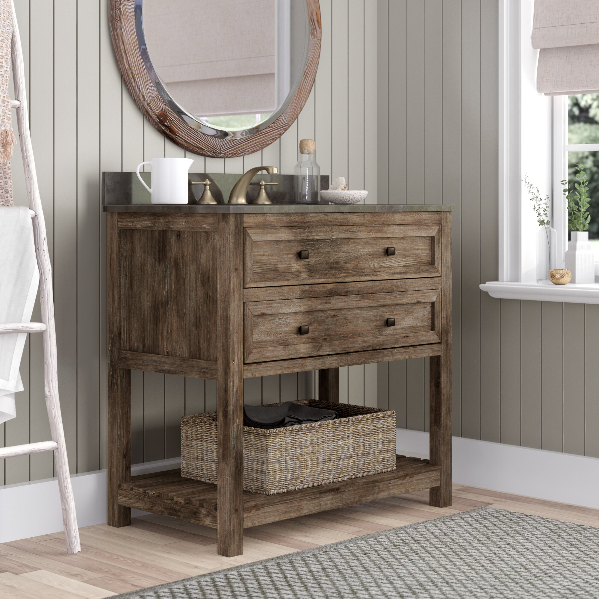 Laurel Foundry Modern Farmhouse Rosalinda 36 Single Bathroom Vanity Set Reviews Wayfair