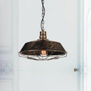 CWI Lighting Morgan 1-Light Dome Pendant