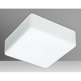 Besa Lighting Geo 2-Light Outdoor Flush Mount