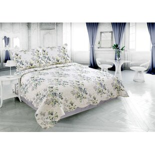 Carli Rich Printed Luxury Reversible Quilt Set