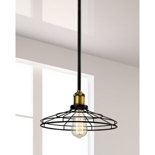 Springdale Lighting Lewis 1-Light Cone Pe..