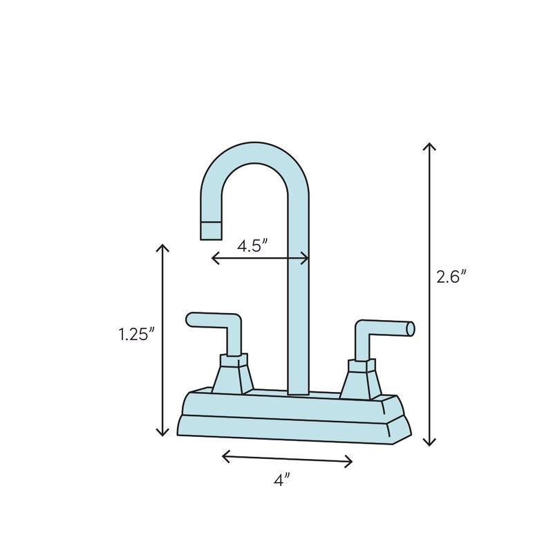Kingston Brass Wilshire Standard Centerset Bathroom Faucet With Drain Assembly Reviews Wayfair