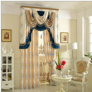 European Grommet Single Curtain Panel