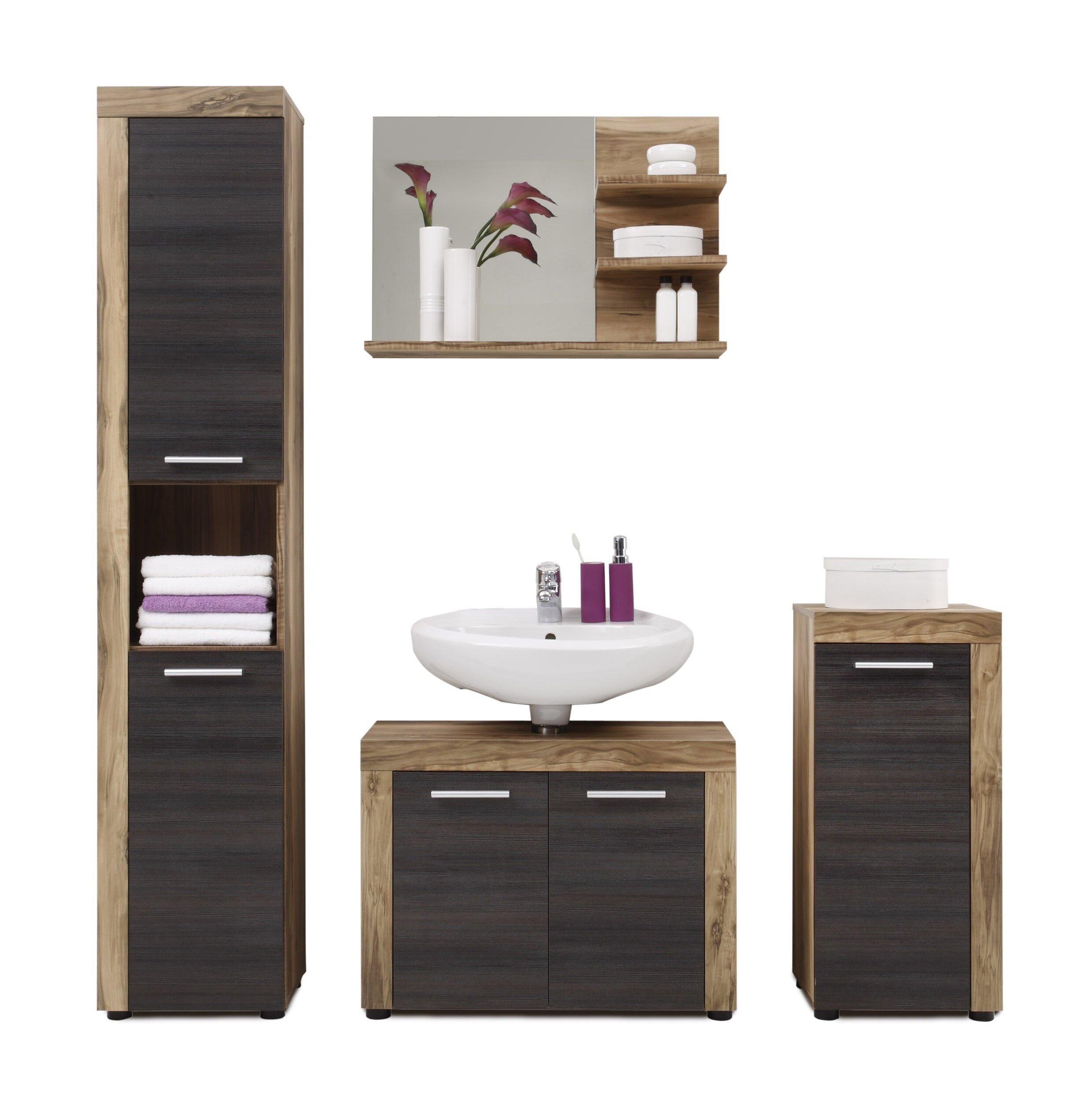 Partone 10 Piece Bathroom Storage Furniture Set