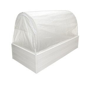 Guarden Multi Season System Quad 8 Ft. W x 4 Ft. D Mini Greenhouse