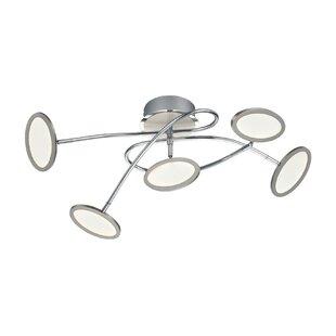 Orren Ellis Dubbo 1-Light LED Flush Mount