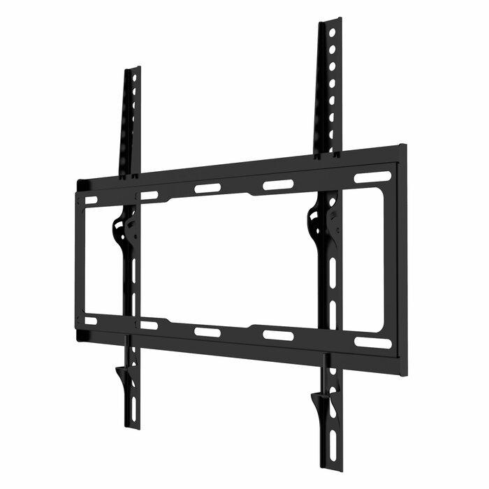 """TV WALL MOUNT Fixed TV Bracket Flat Screens 32/"""" 55/"""" Max VESA 400 X 400 77 Lbs"""