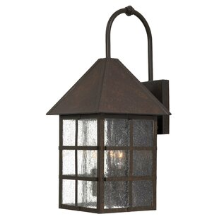Affordable Townsend 3-Light Outdoor Wall Lantern By Great Outdoors by Minka