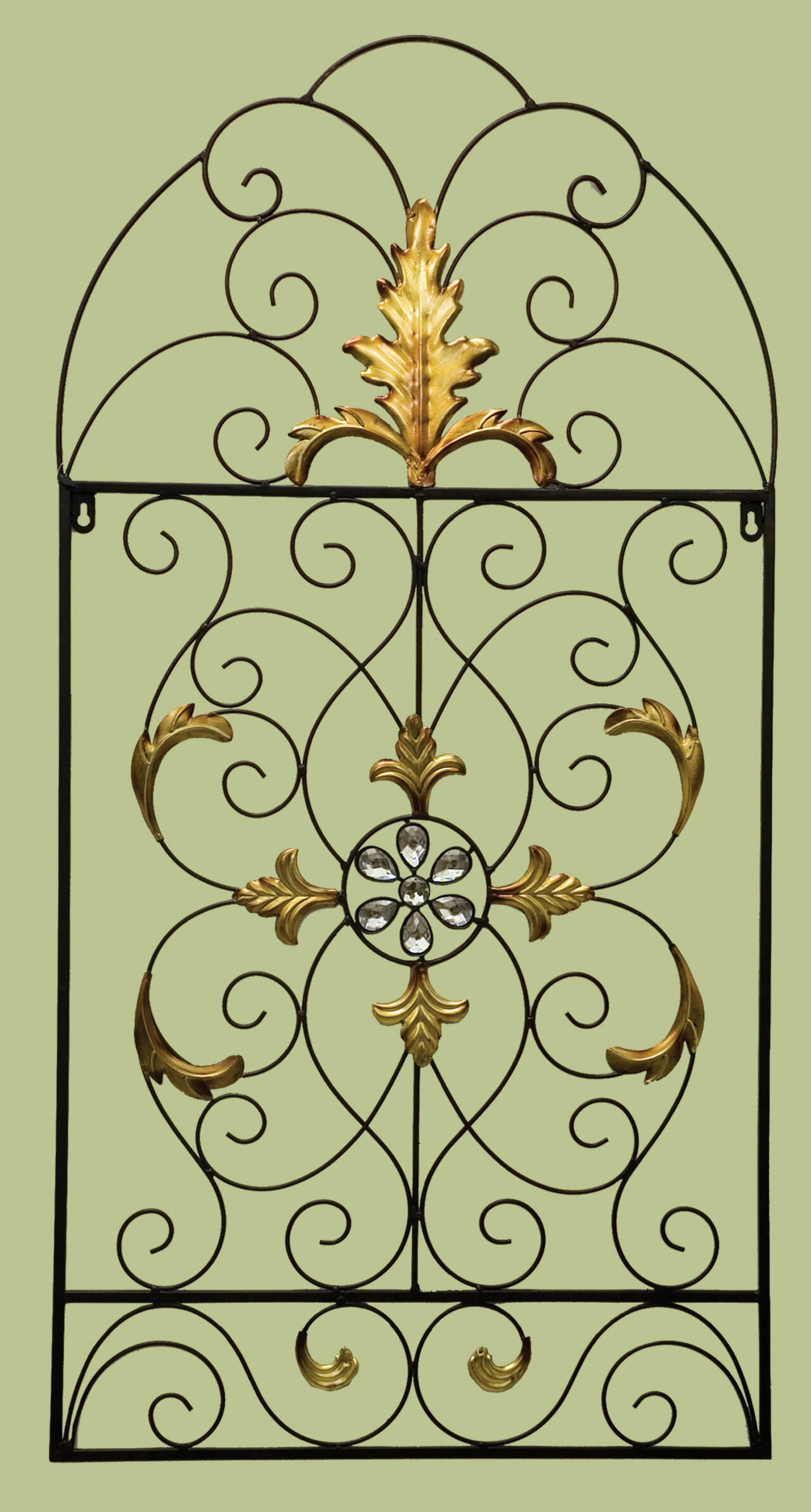 Fantastic Scroll Metal Wall Art Contemporary - The Wall Art ...