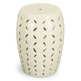 Round Ceramic Garden Stool