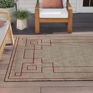 Amherst Rust Indoor/Outdoor Area Rug Reviews