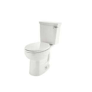 American Standard H2Optimum 1.1 GPF Elongated Two-Piece Toilet