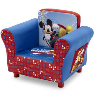 Bargain Disney Mickey Mouse Kids chair By Delta Children