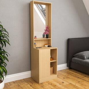 Reiban Dressing Table With Mirror By 17 Stories