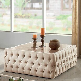 Regan Square Upholstered Coffee Table