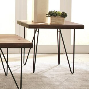 Needville Solid Wooden Contemporary End Table by Ivy Bronx
