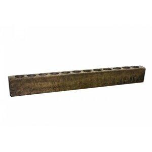 Large Wood Candelabra