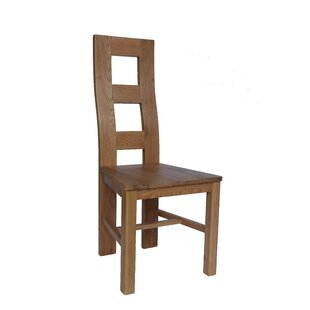 Carbajal Solid Wood Dining Chair (Set of 2)