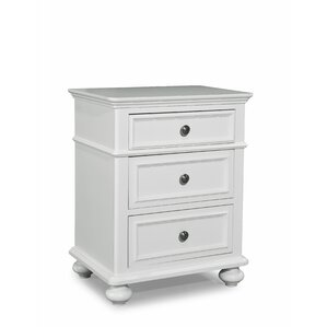 Otto 3 Drawer Nightstand by Viv + Rae
