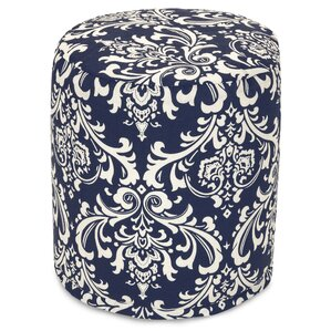 French Quarter Small Pouf Ottoman by Majestic Home Goods