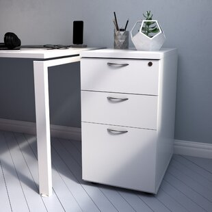 Roiguez 3 Drawer Filing Cabinet By Mercury Row