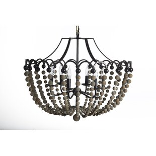 Peter 6-Light Empire Chandelier by Gabby