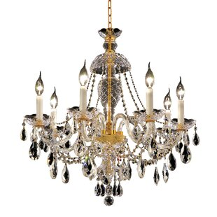 Schroeppel Traditional 7-Light Candle Style Chandelier by Astoria Grand