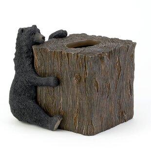 Bear Lodge Tissue Box Cover ByAvanti Linens