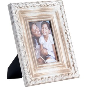 Beige Wood Picture Frame