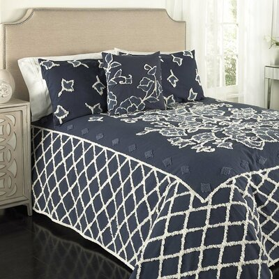Chenille Single Bedspread Beatrice