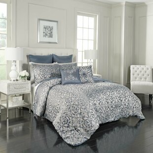 Livvy 7 Piece Reversible Comforter Set