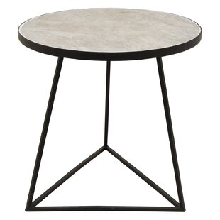 Gassaway Metal End Table by Ivy Bronx