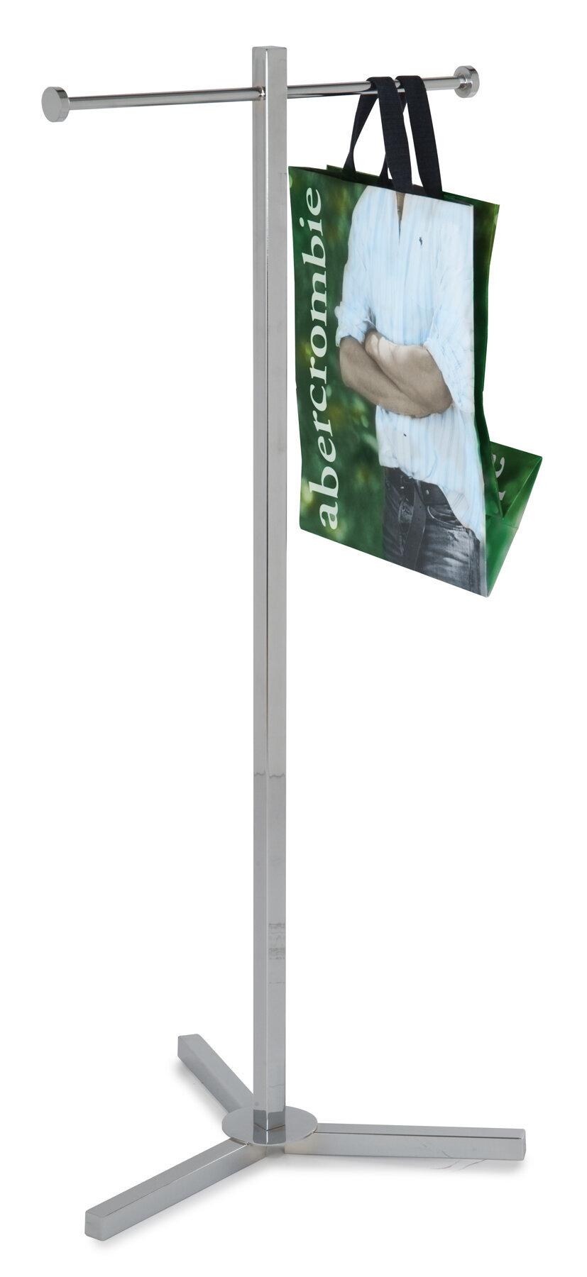 Econoco Heavy Duty Shopping Bag Rack Hanging Organizer Wayfair