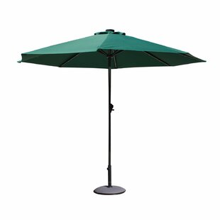 Trosclair 9' Lighted Umbrella by Latitude Run