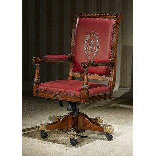 Prospect Heights Genuine Leather Task Chair