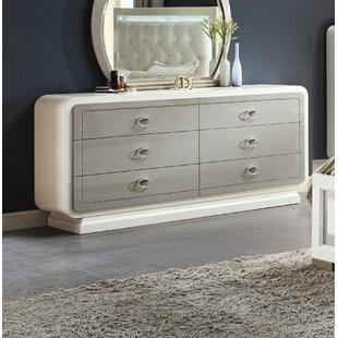 Guion 6 Drawer Double Dresser