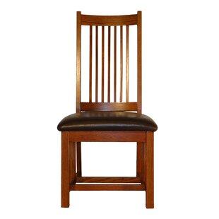 Spiegel Spindle Back Mission Upholstered Dining Chair (Set of 2)