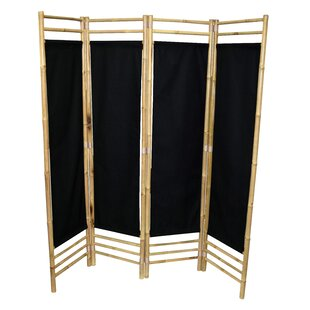 Bay Isle Home Rodgers 4 Panel Room Divider