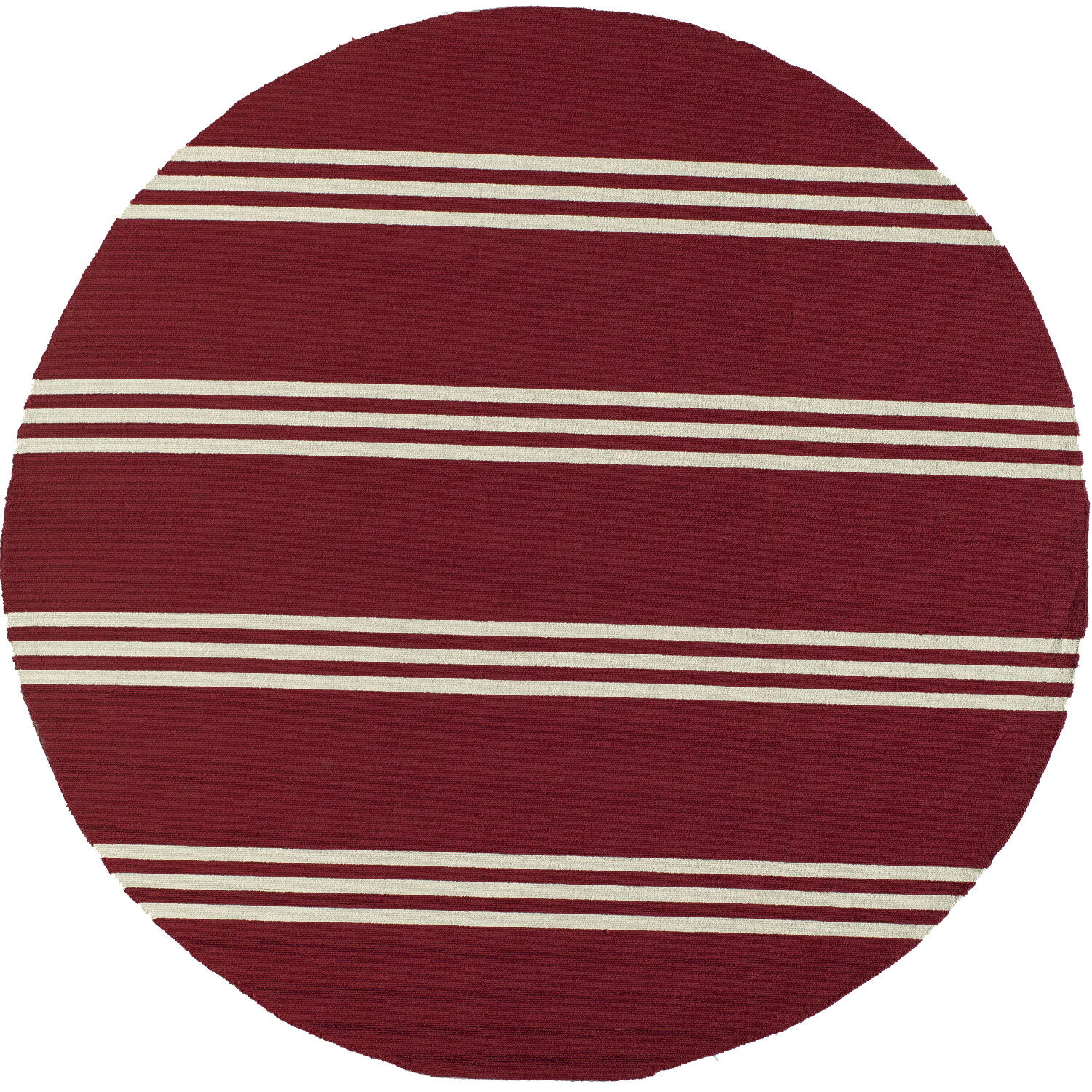 Dreadnought Hand Hooked Red Indoor Outdoor Area Rug Reviews